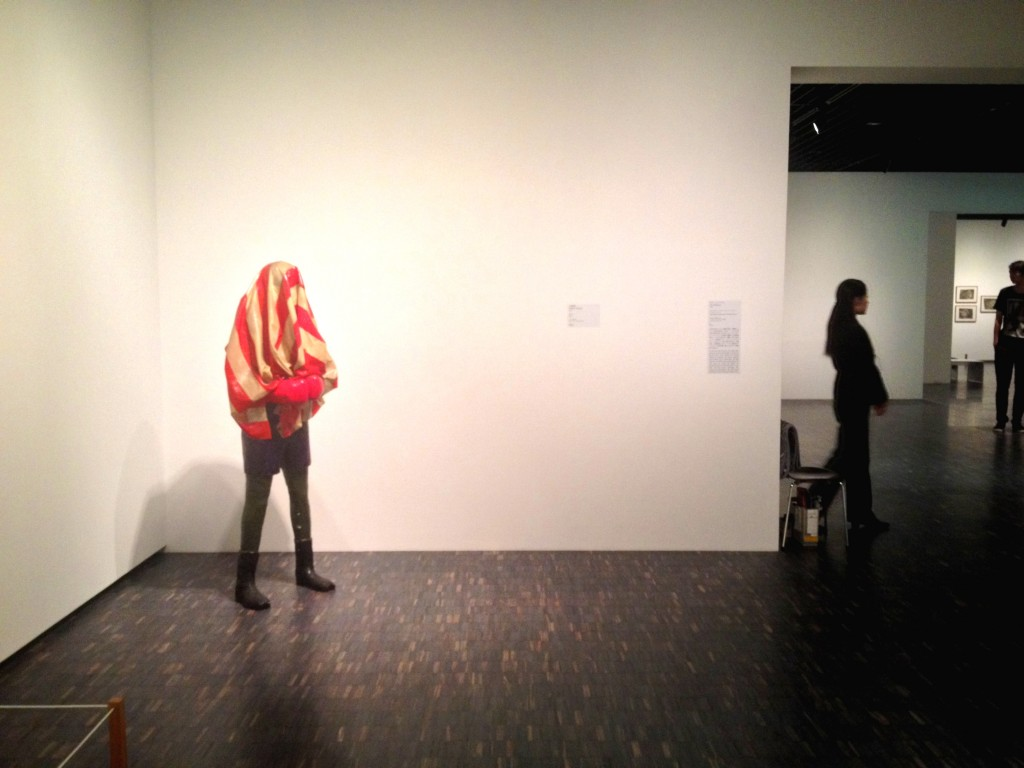 Figure 3: Kojima Nabuaki's The Boxer in the National Museum of Modern Art, Tokyo (photo taken by the author)
